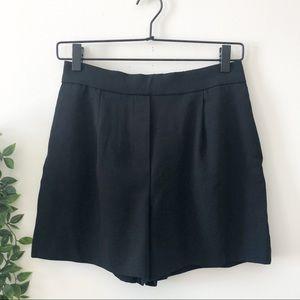 Aritzia (Babaton) Black Shorts